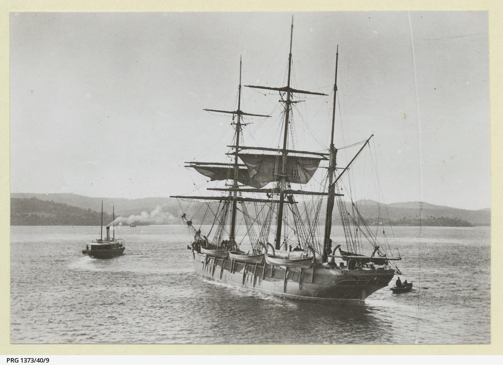 'Helen' wooden barque