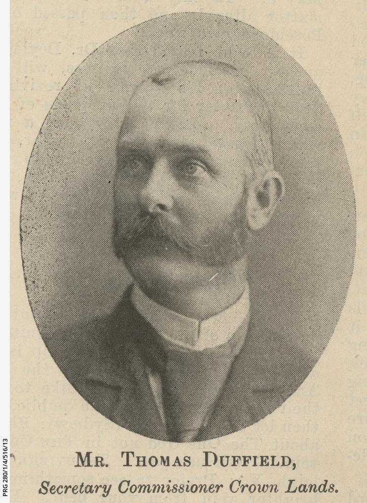 Portrait of Thomas Duffield