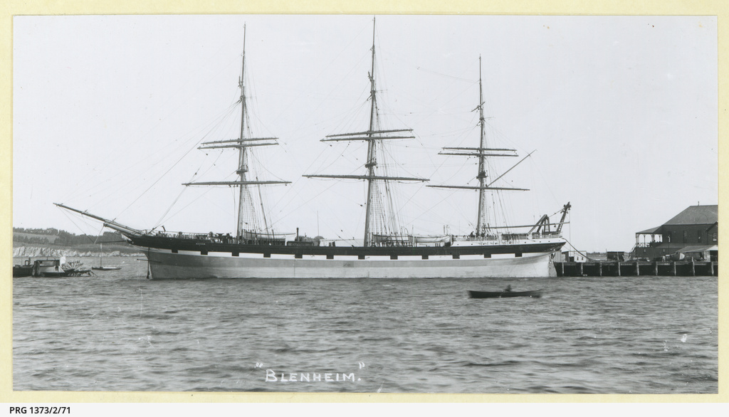 The 'Blenheim' in an unidentified port