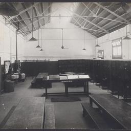 The staff mess room at the MTT Hackney Depot