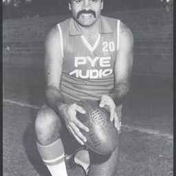 Footballer Wilbur Wilson