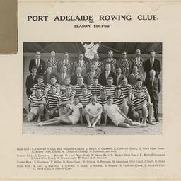 Port Adelaide Rowing Club, 1961 to 1962 season