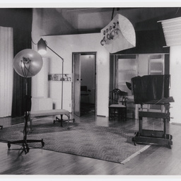 Inside view of the Arthur Studio photographic business