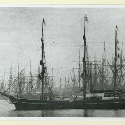 An Unknown Wooden Barque at Liverpool