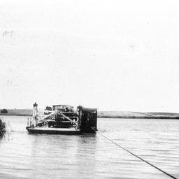 Narrung ferry approaching