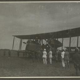 Vickers Vimy and crew, Thailand.