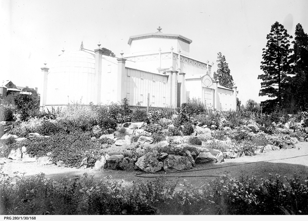 Palm house at the Botanical Gardens, Adelaide