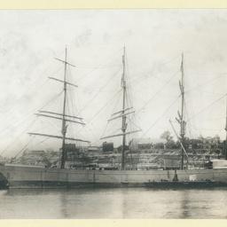 The 'Glenricht' docked in an unidentified port