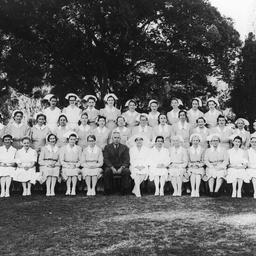 Group of nursing staff