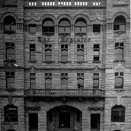 Premises of the 'Register' newspaper offices, Adelaide