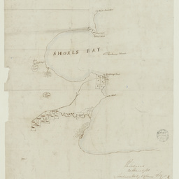 [Map showing land purchases near Kingscote, Kangaroo Island] [cartographic material]