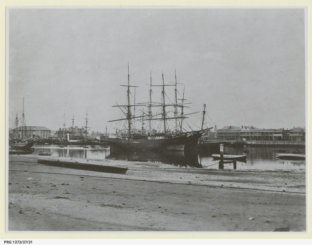 Unknown brigs at Port Adelaide