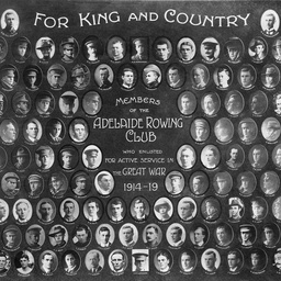 Adelaide Rowing Club : Enlisted members