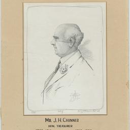 Self portrait by John Chinner