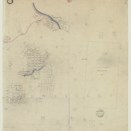 [Tracing showing sections in Hundreds of Talunga, South Rhine and Tungkillo (parts)] [cartographic material]