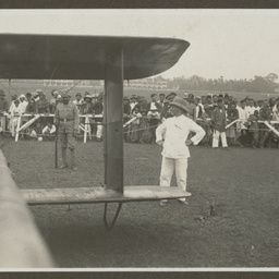 Arrival of Vickers Vimy at Burma.