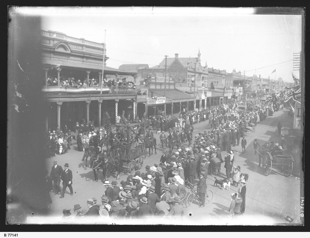 Parade, Broken Hill