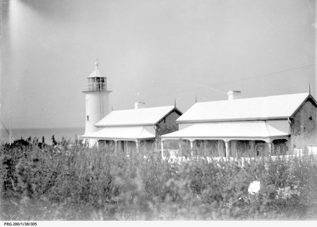 Lighthouse on Penguin Island, Beachport