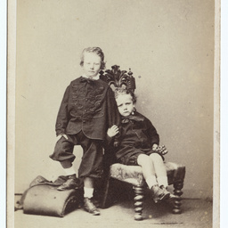 Photographic portrait of Samuel Bell Labatt and John Bagot Labatt
