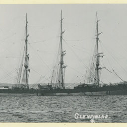 The 'Glenfinlas' anchored in an unidentified harbour