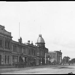 Grenfell Street looking east towards Hindmarsh Square