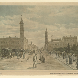 King William Street, Adelaide (looking north)