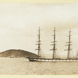 The 'Loch Moidart' at anchor