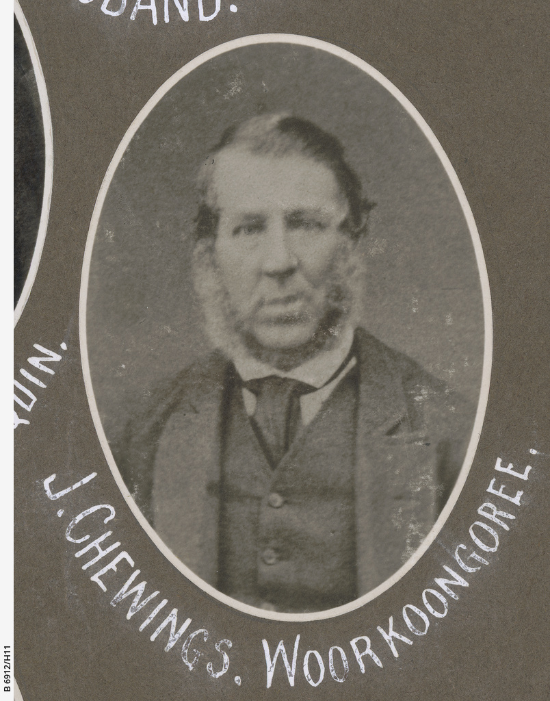 S.A. Northern Pioneers: J. Chewings