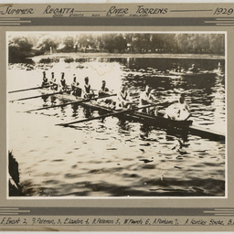 Port Adelaide Rowing Club Dash Eights, Summer Regatta 1929