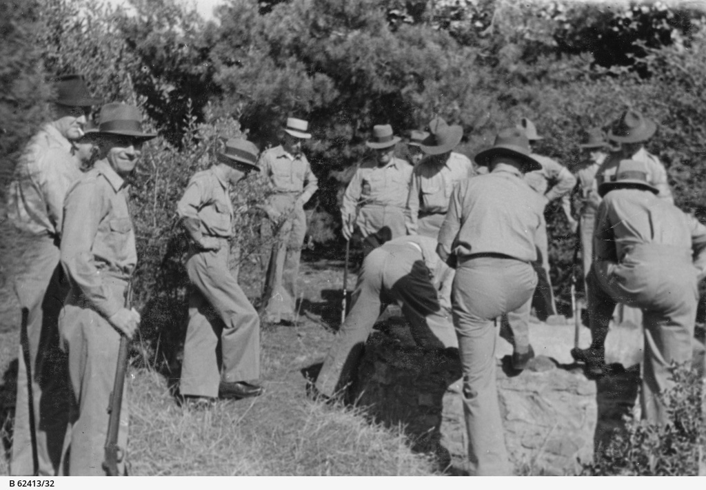Volunteer Defence Corps in S.A.: field exercises