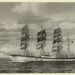 The 'Ellesmere' as a barque