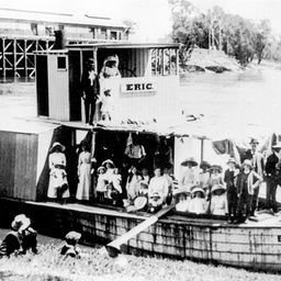 The maiden voyage of P.S. Eric at Echuca
