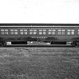 Sleeping car from the Melbourne Express - Version details