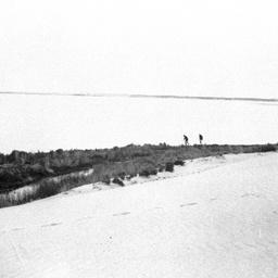 Huge sand drift on Younghusband Peninsula