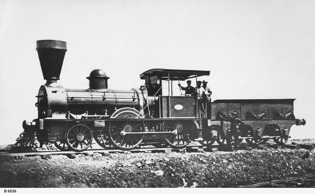 Early South Australian locomotive