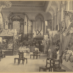 Exhibition of furniture