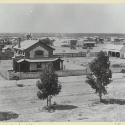 Panoramic view over part of Mildura