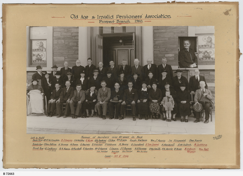 Prospect Branch of the Old Age & Invalid Pensioners' Association