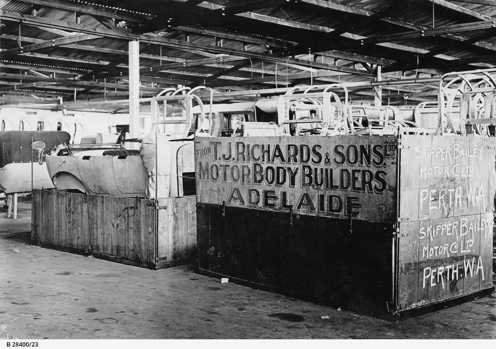 T.J. Richards & Sons Ltd : Packing bodies