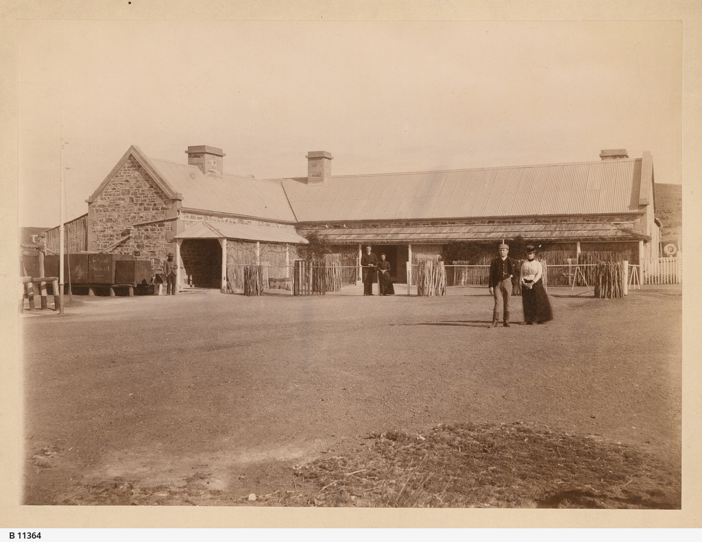 Peake Telegraph Station