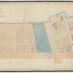 Plan of allotments at Section 'A' Port Adelaide [cartographic material]