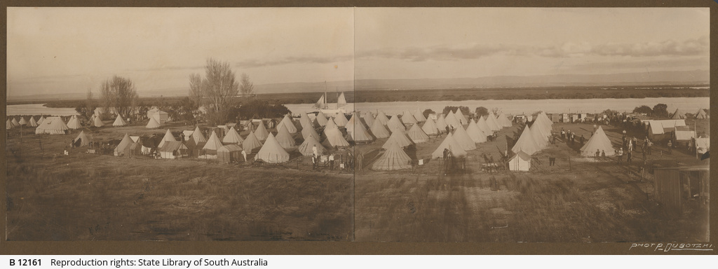 Torrens Island camp
