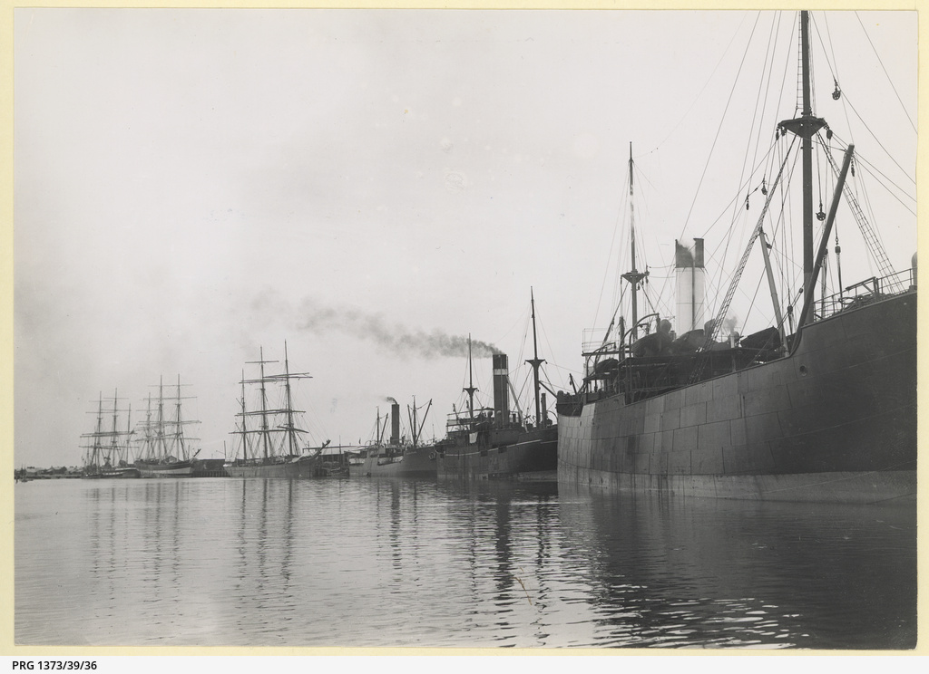 Shipping, Port Pirie 1908