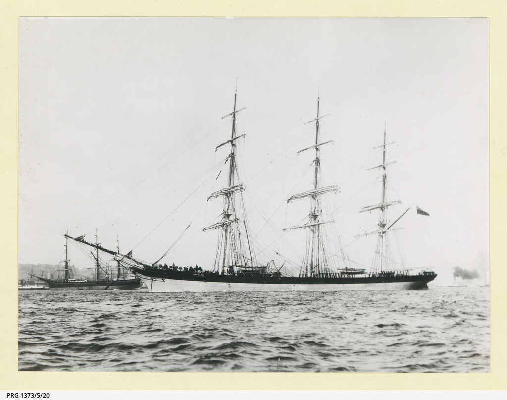 The 'Lord Cairns' in an unidentified port