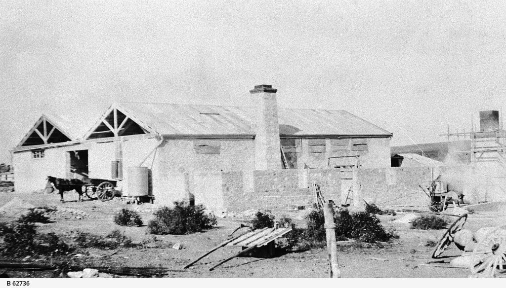 Gypsum factory at Stenhouse Bay