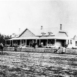 Wilcannia Hospital near the Darling River