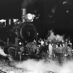 The last steam train to leave Willunga