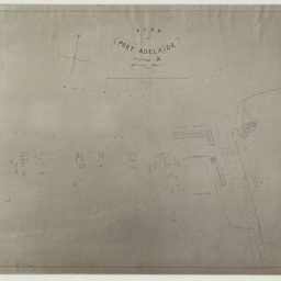 Plan of Port Adelaide Section 'A', 14th October 1840 [cartographic material] / by G.S. Kingston, Civil Engineer