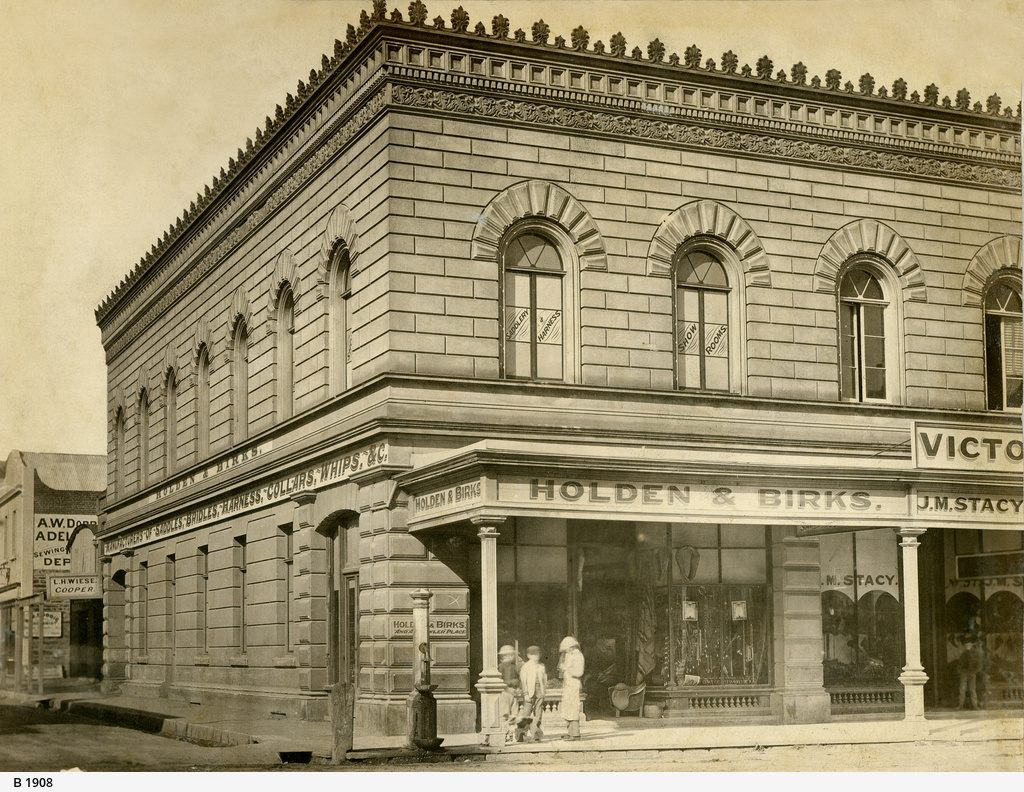 Holden & Birks on Rundle Street, Adelaide