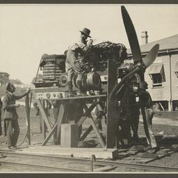Engine repairs.